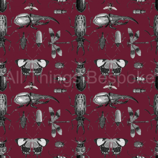 Entomologist Fabric Collection