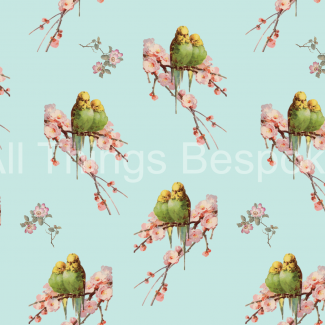 Budgies Galore Fabric Collection