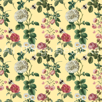 Rose Garden Fabric Collection